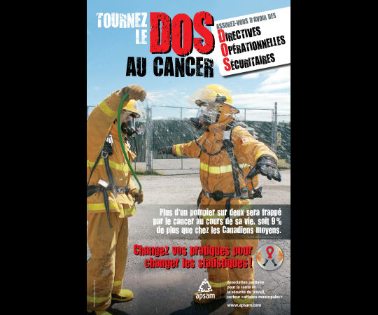 Tournez le dos au cancer